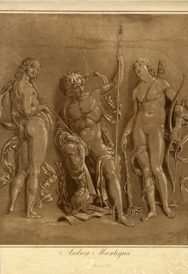Mars, Diana and Iris (WA1863.11936, record shot)
