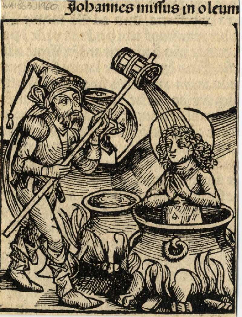 Saint John boiled into oil (WA1863.11960, record shot)