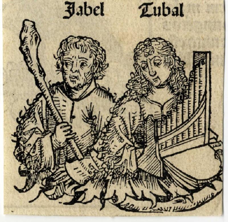 Abel and Tubal (WA1863.11981, record shot)