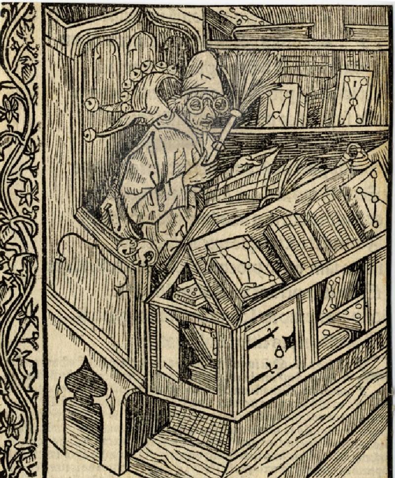 Recto: Of useless books<br />Verso: Letterpress (WA1863.12728, record shot)