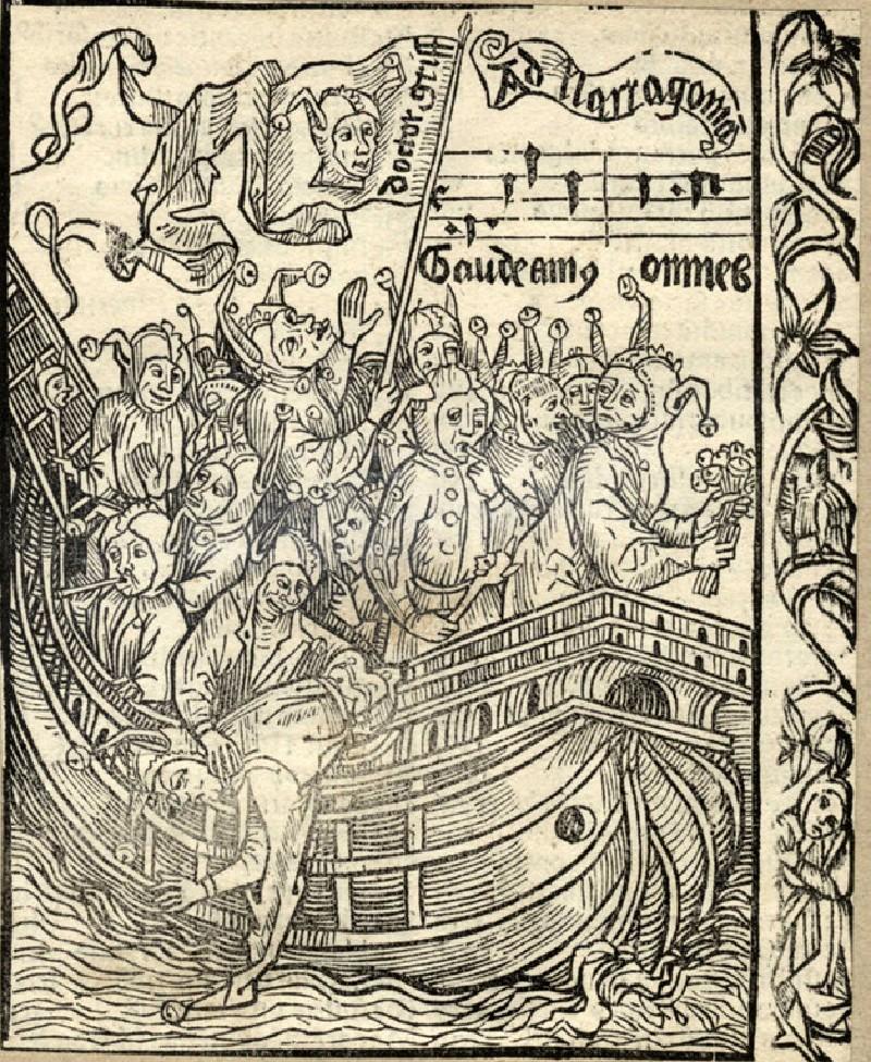 Recto: Association of fools<br />Verso: Letterpress