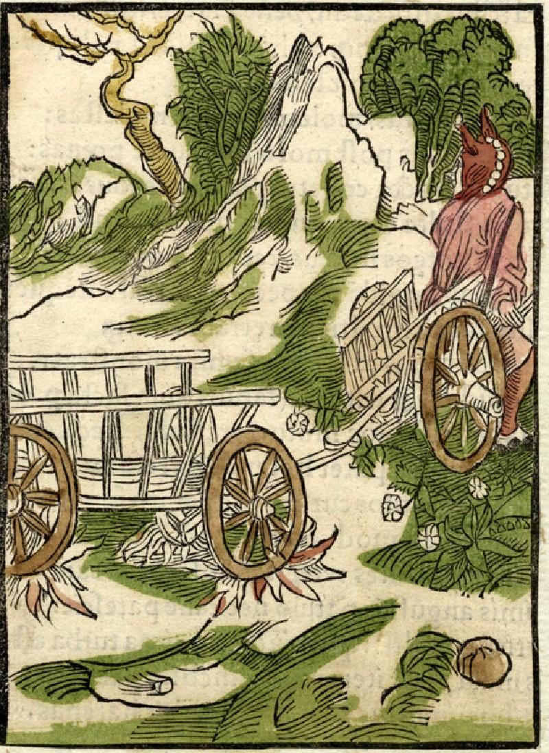 Recto: Broken carriage fool<br />Verso: Letterpress