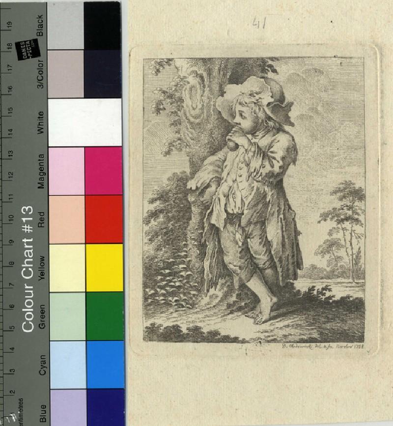 The beggar boy at the tree (WA1863.13030, record shot)