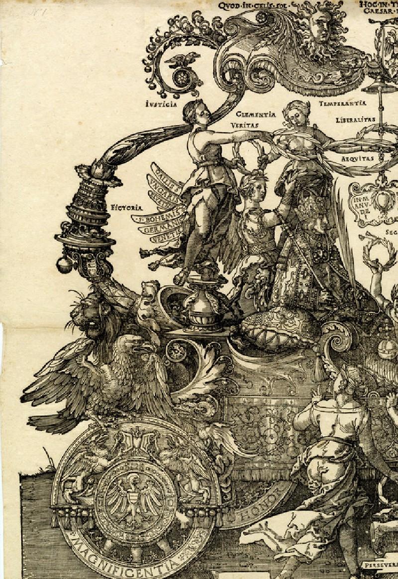 The Triumphal Chariot of Maximilian I, block A, copy (WA1863.2617.1, record shot)