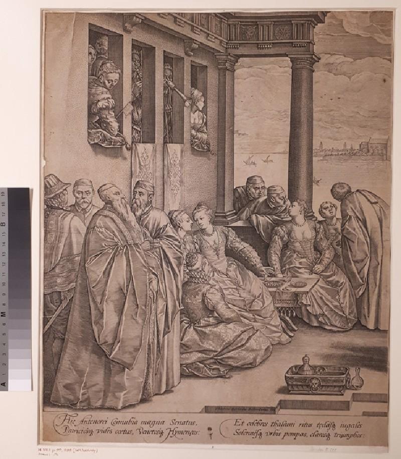 The Venetian wedding (left half only)