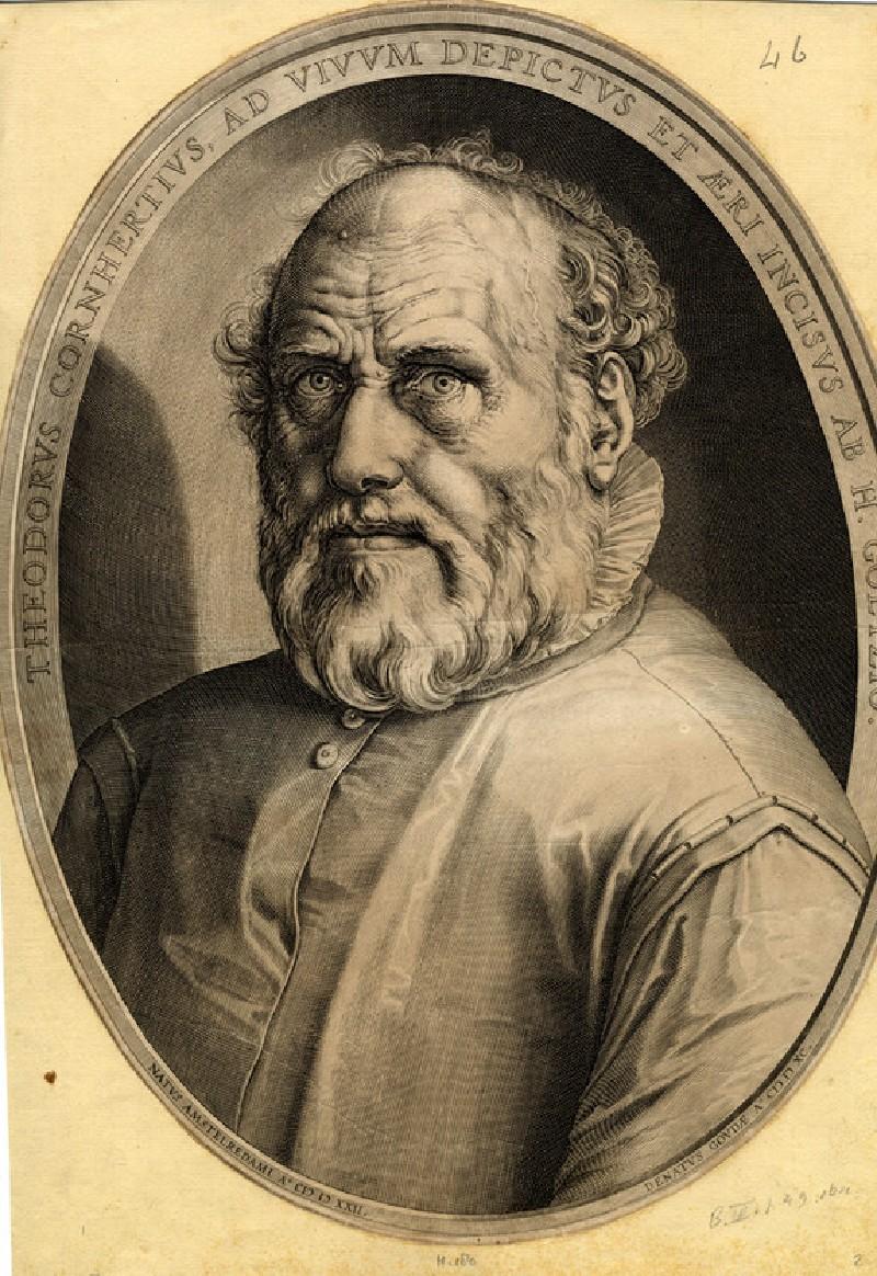 Portrait of Dirck Volckertsz. Coornhert (WA1863.2887, record shot)