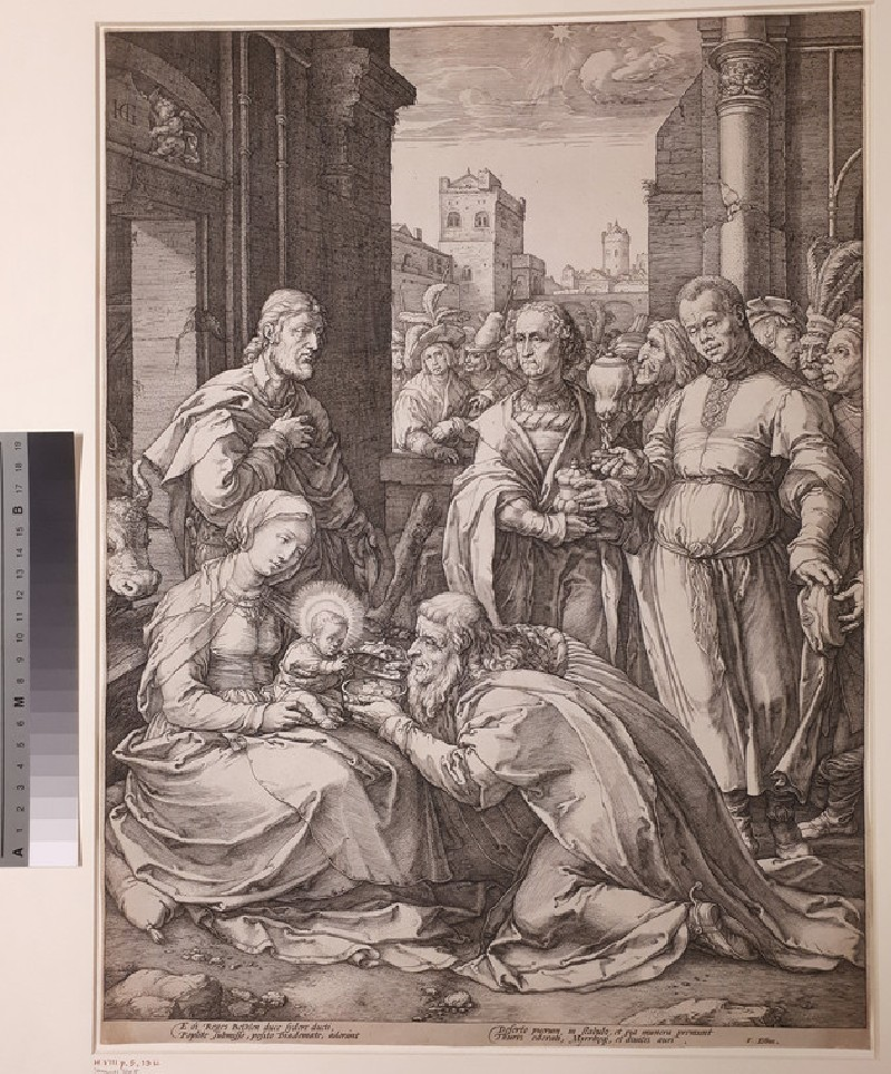 The Adoration of the Magi (WA1863.2891, record shot)