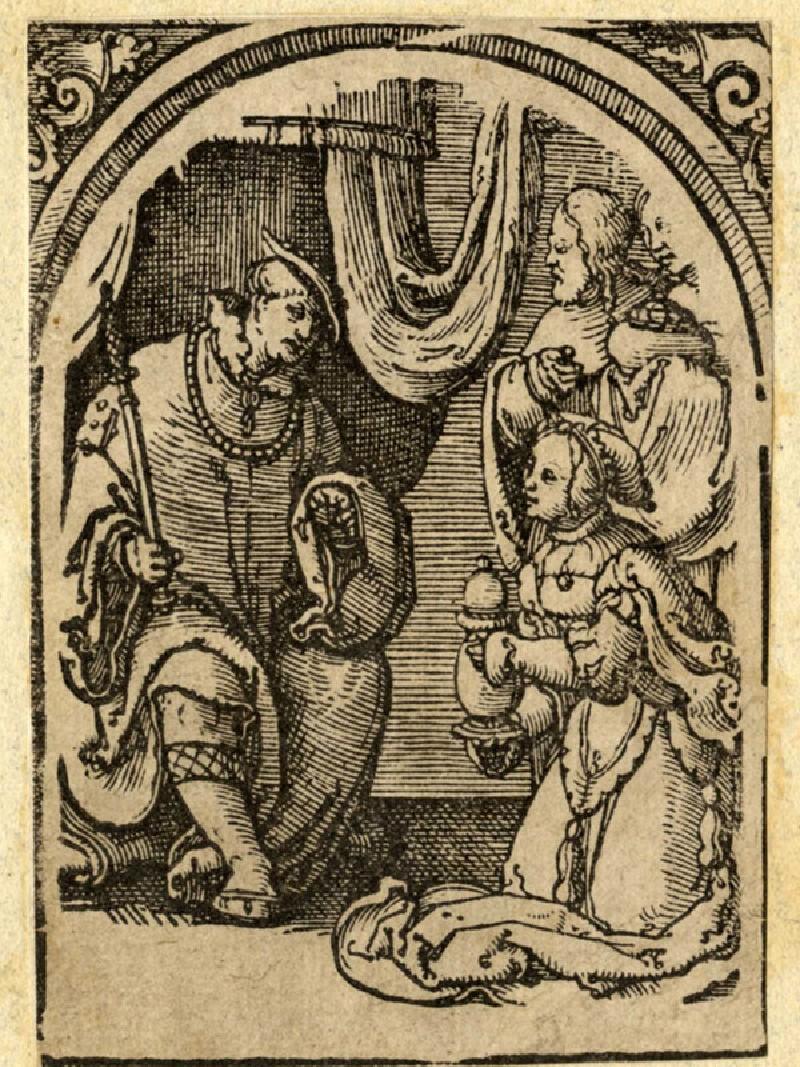 The Queen of Sheba before Solomon (WA1863.3528.2, record shot)