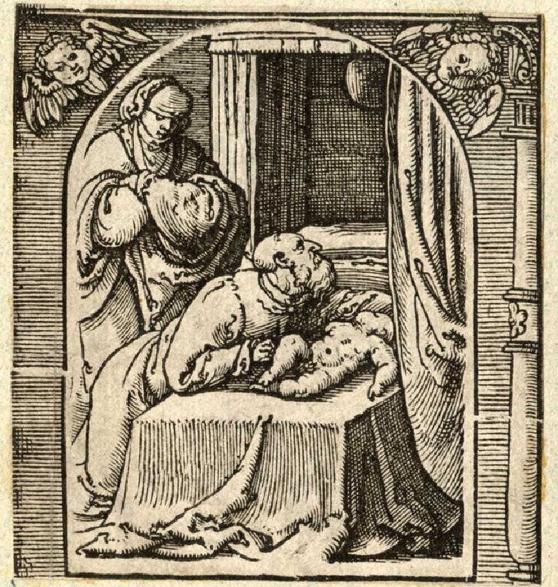 Elijah raising the son of the widow of Zarephath