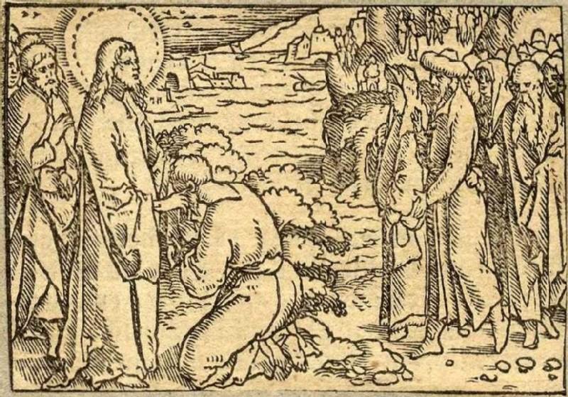 Jesus heals the deaf mute of Decapolis