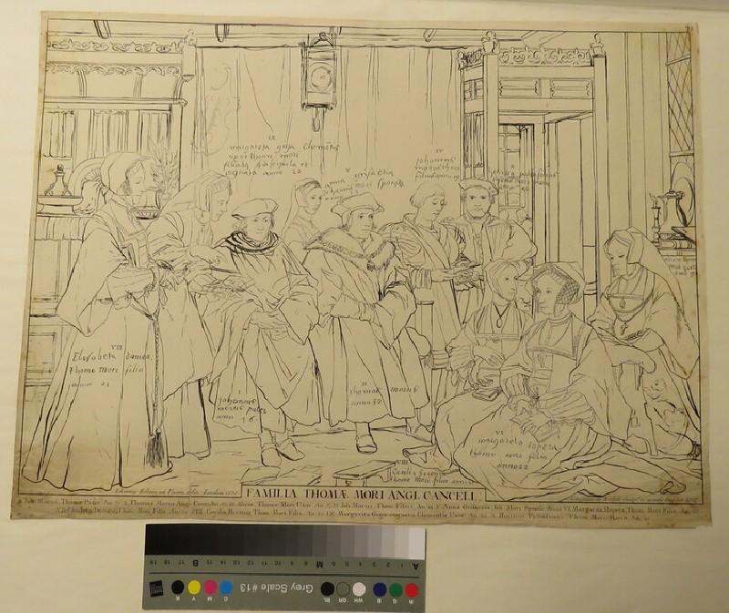 Sir Thomas More's Family (WA1863.7142, record shot)