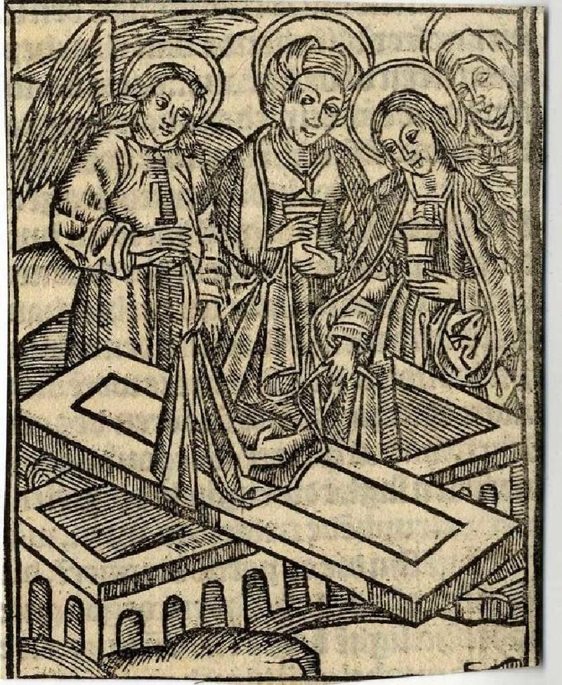 The Empty Tomb: The Myrrbearers