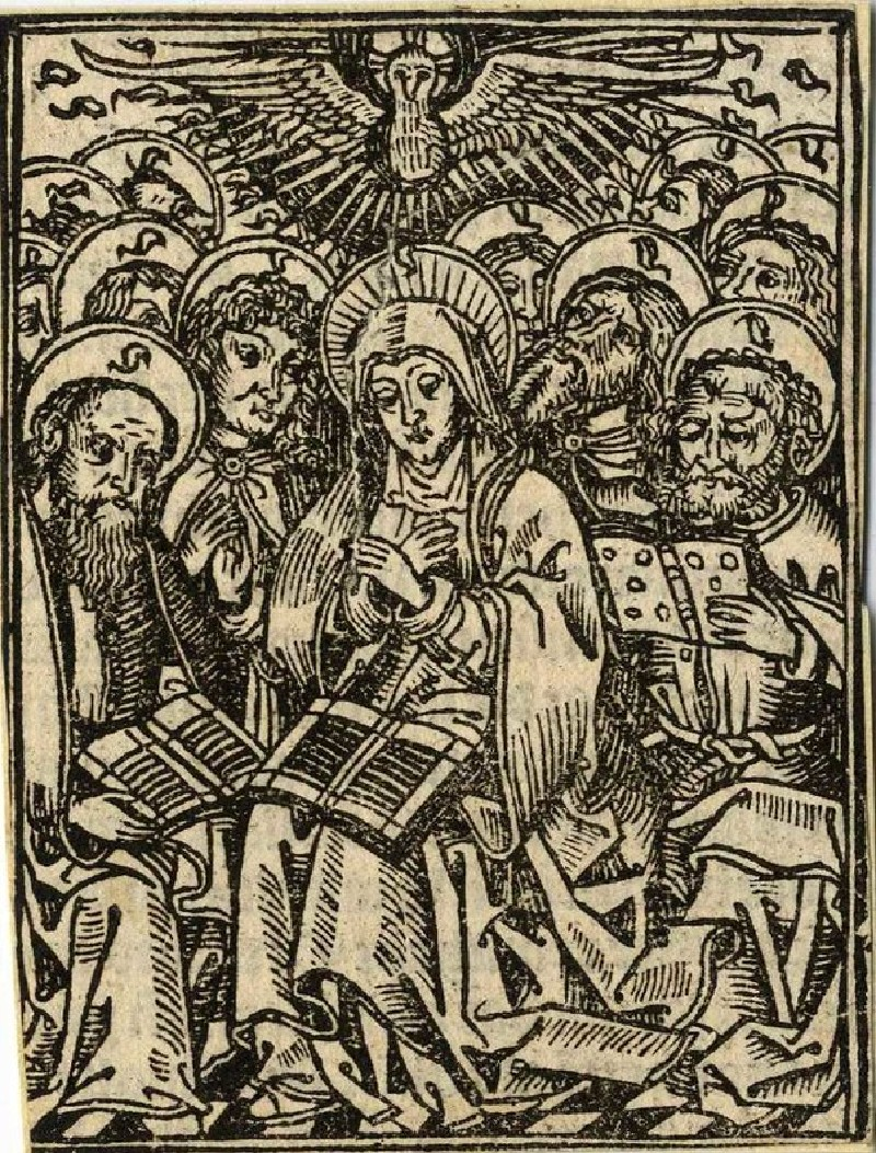 Pentecost or The Descent of the Holy Spirit
