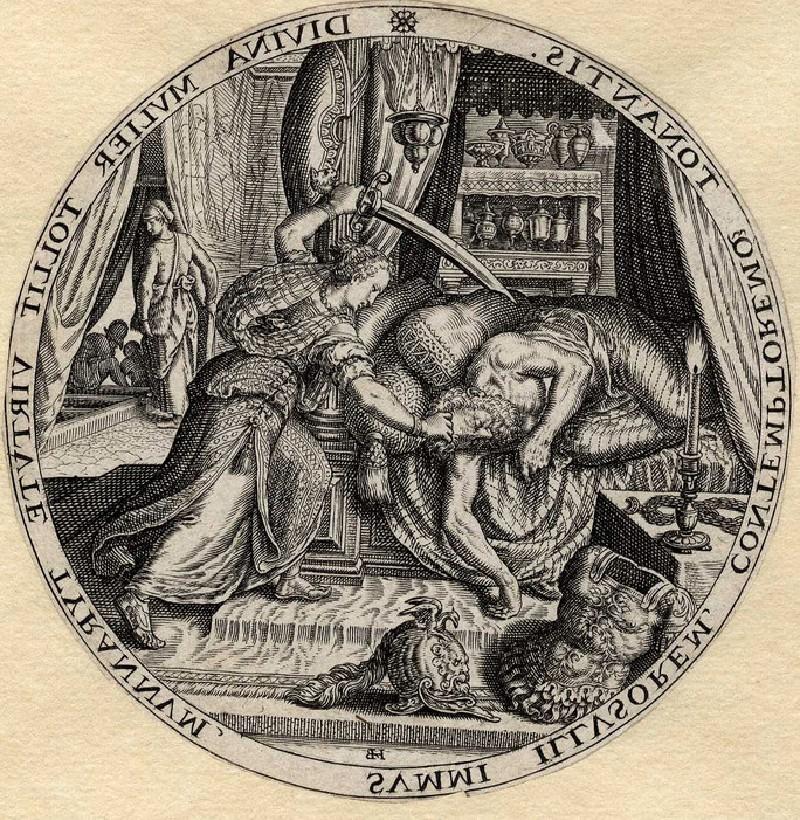 Judith and Holofernes (WA1863.7641, record shot)