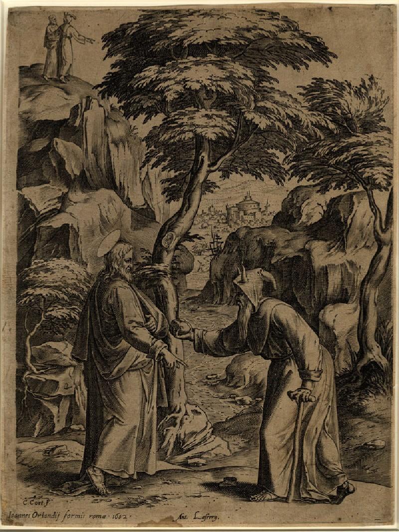 The Temptation of Christ (WA1863.7777, record shot)
