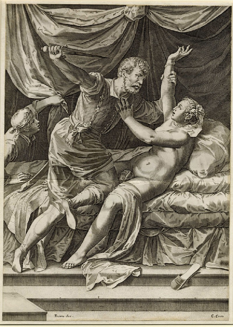 The Rape of Lucretia (WA1863.7784, record shot)