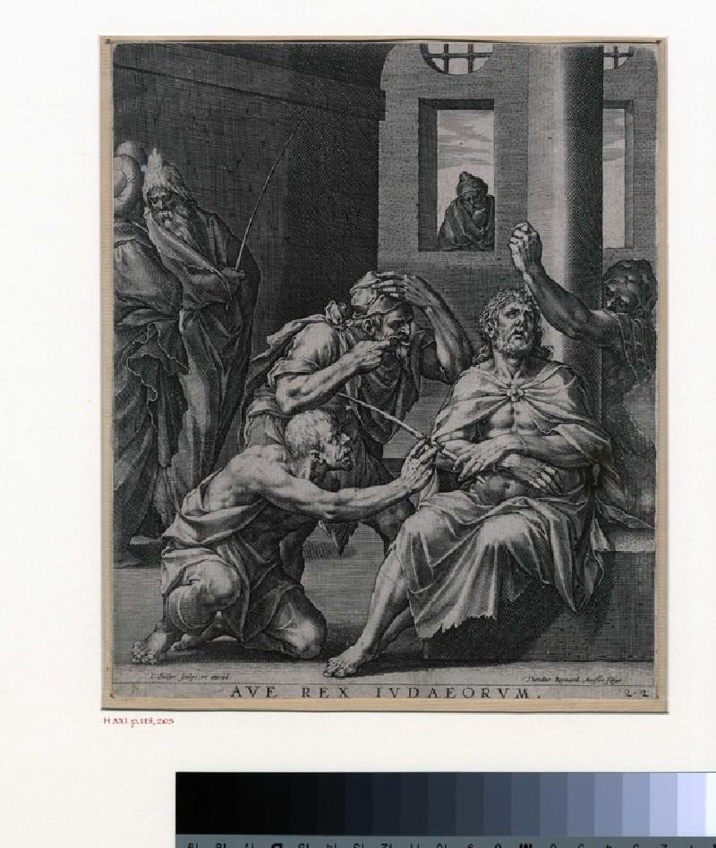 The mocking of Christ (WA1863.8704, record shot)