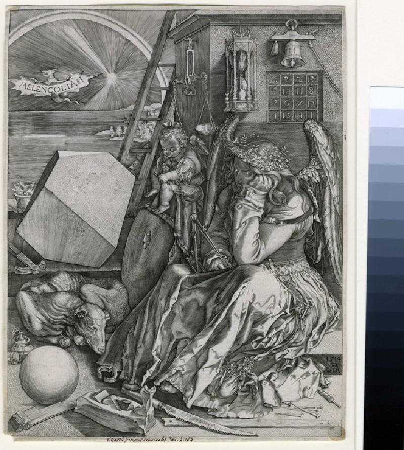 Melencolia I (WA1863.9097, record shot)