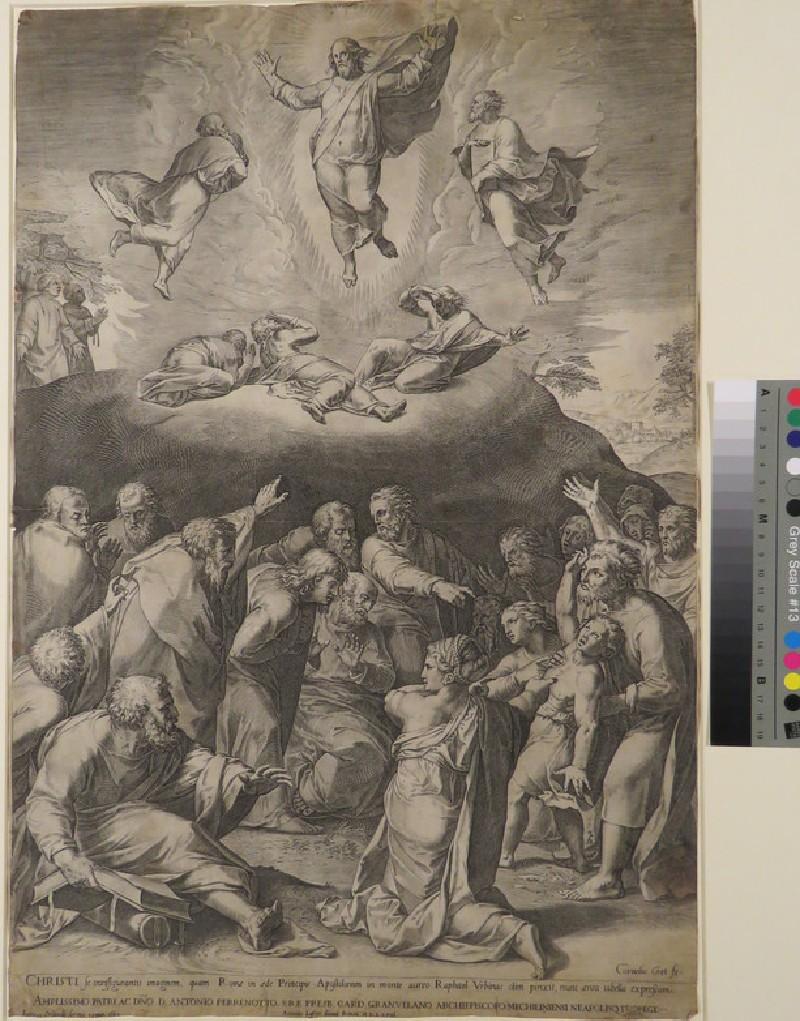 The Transfiguration at Mount Tabor (Matthew 17:1-13)