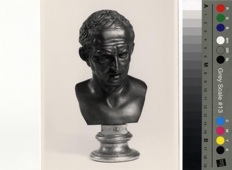 Portrait bust of Cicero (WA1899.CDEF.B407)