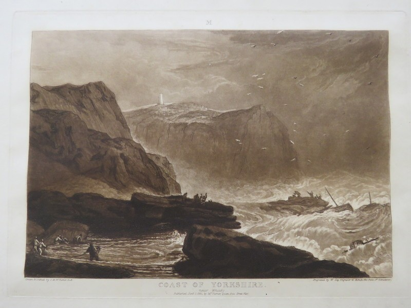 Coast of Yorkshire (from the Liber Studiorum)