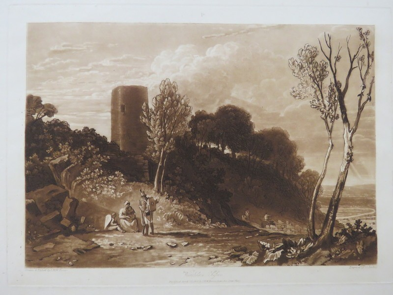Winchelsea, Sussex (from the Liber Studiorum) (WA1900.25, record shot)