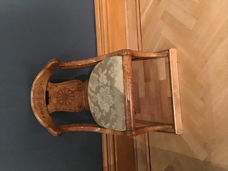 Chair, one of four