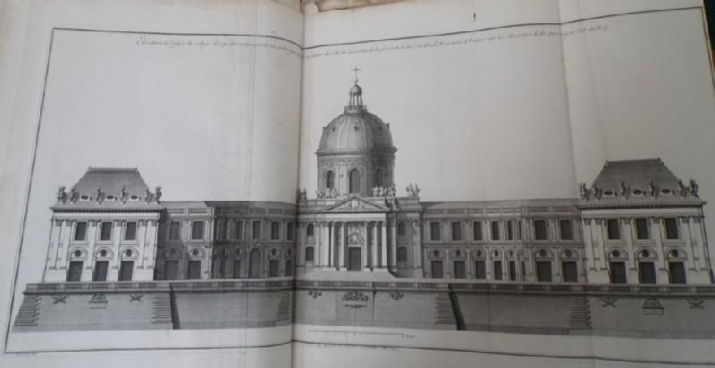 Façade of the church of the Collège des quatre nations (WA1925.345.16, record shot)