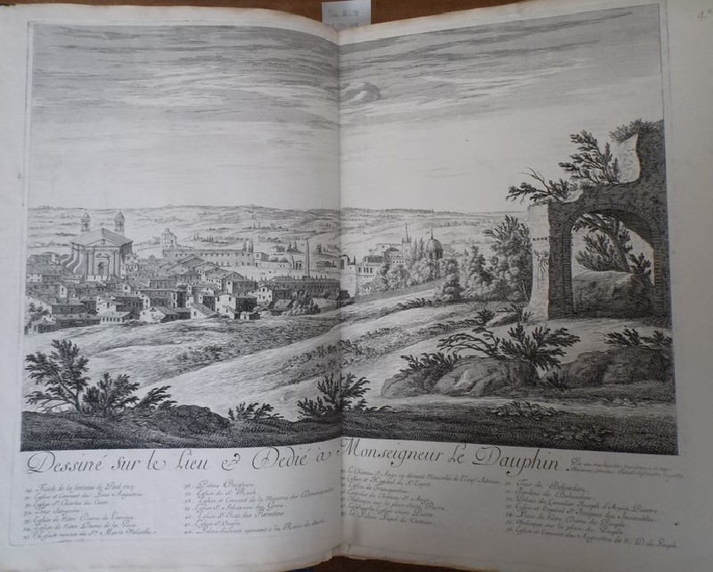 View of Rome from Pincio Hill by Villa Medici