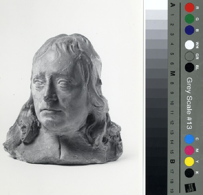 Portrait Head, probably of John Milton