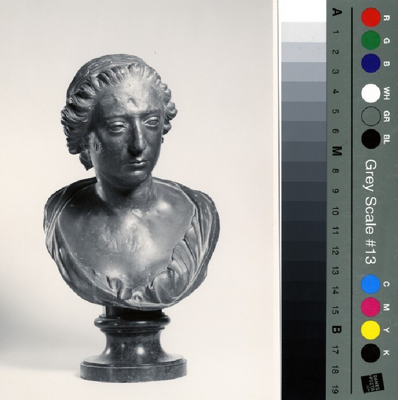 Portrait bust of an unknown lady (WA1933.32, record shot)