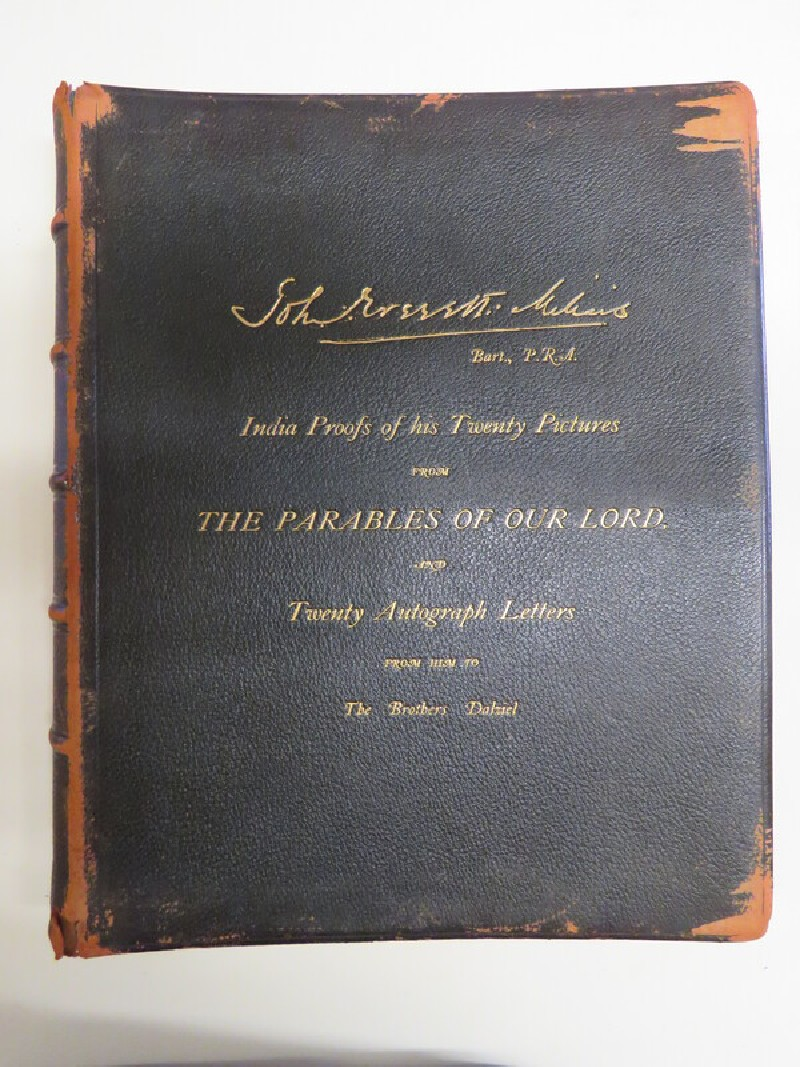 Twenty India Paper Proofs of the Drawings by Sir John Everett Millais