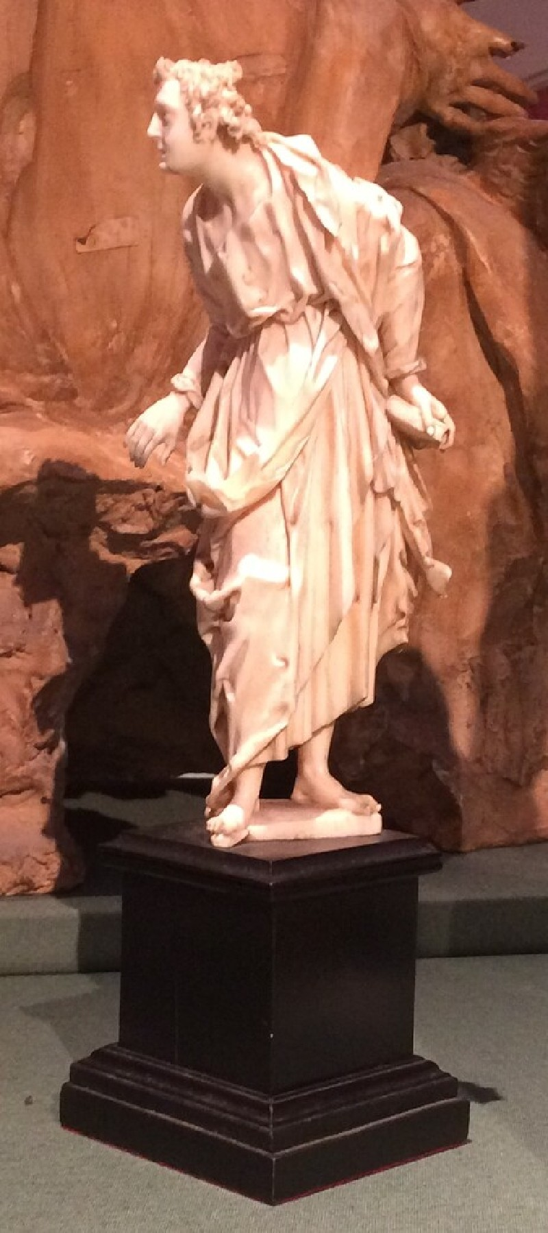Figure of St John (WA1947.191.225.2, record shot)