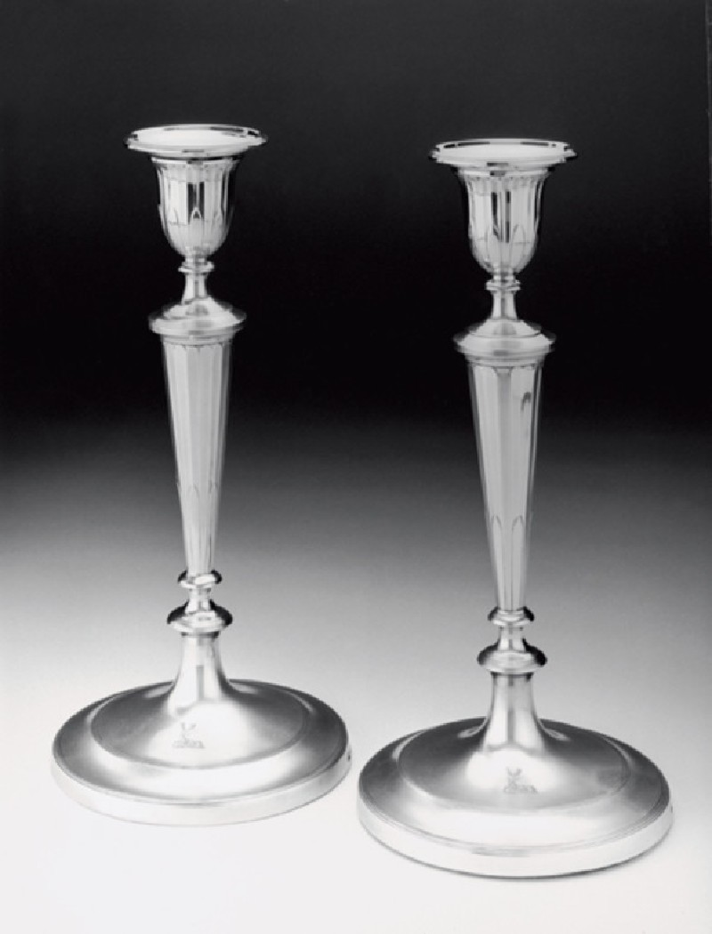 Candlestick, one of a set of four (WA1952.14.1, record shot)
