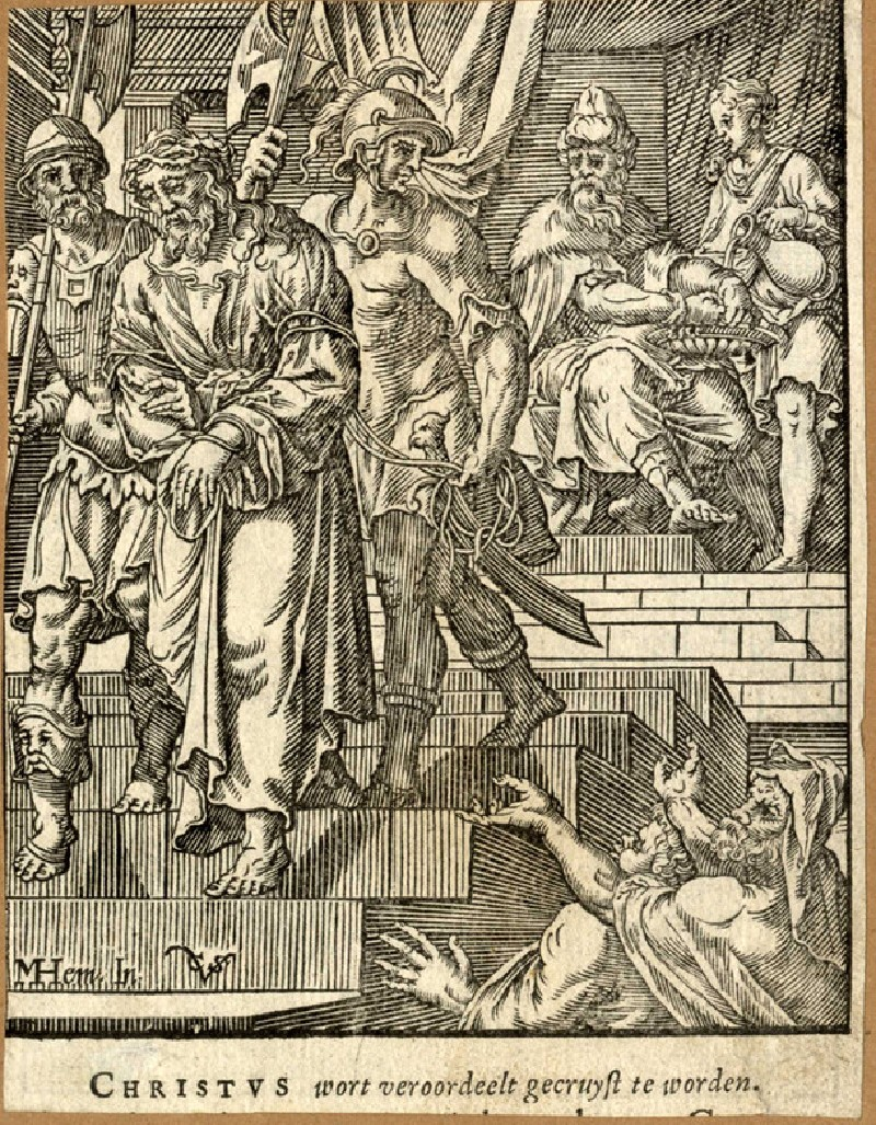 Pilate washing his hands (WA1954.80.249, record shot)