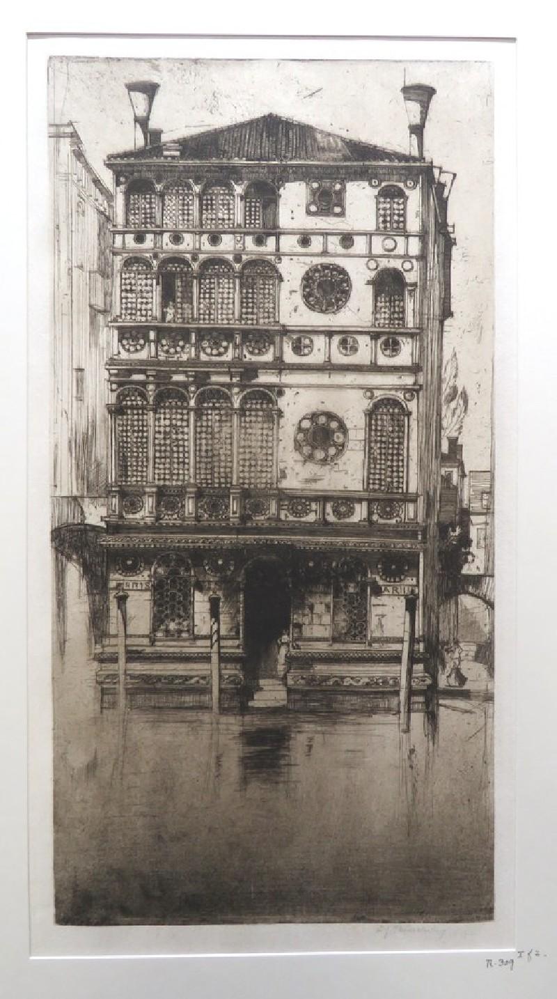Palazzo Dario, Venice (WA1964.75.396, record shot)