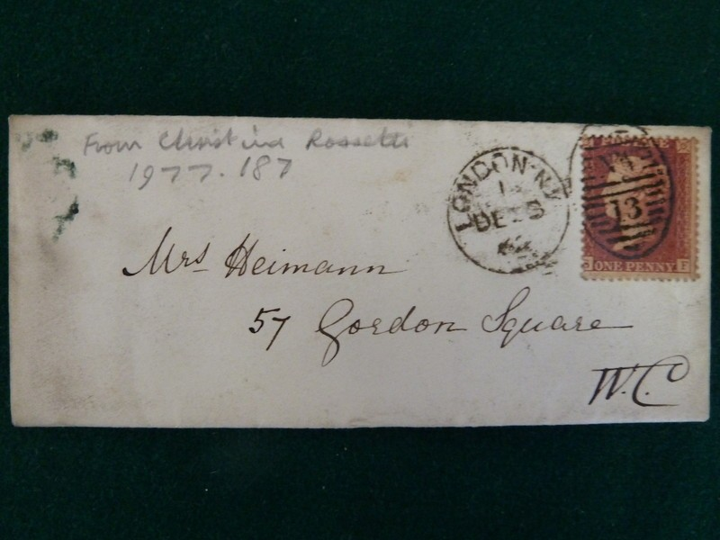 Letter to Mrs Heimann, 'I write by Mamma's express desire'