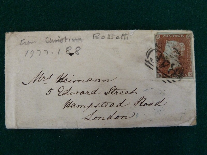 Letter by Christina Rossetti to Mrs Heimann, 'Have you thought me very remiss'