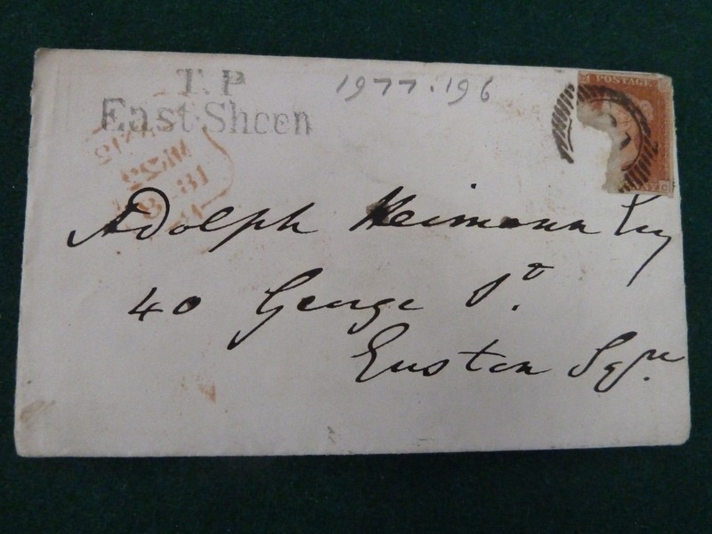 Letter to Dr Adolph Heimann,  'Be assured that I shall lose no time'