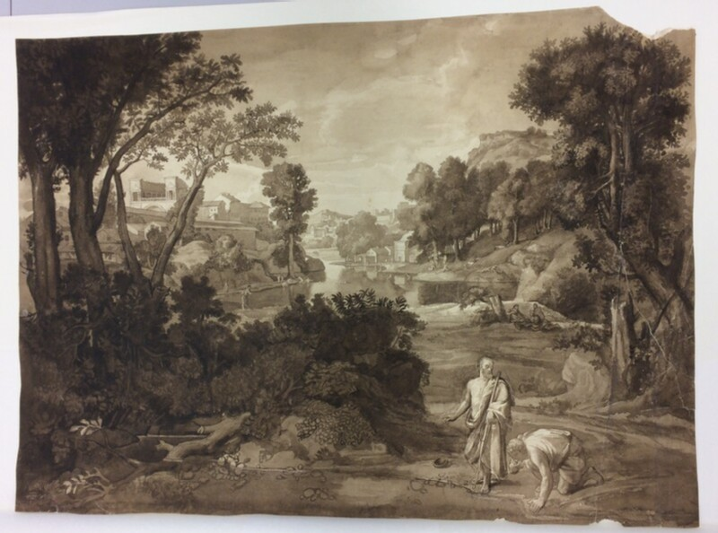 Landscape with Diogenes (WA1988.285.1, record shot)