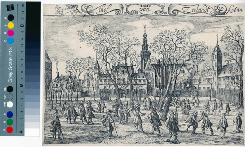 The court of Zeeland Anno 1644 (WA2003.Douce.292, record shot)