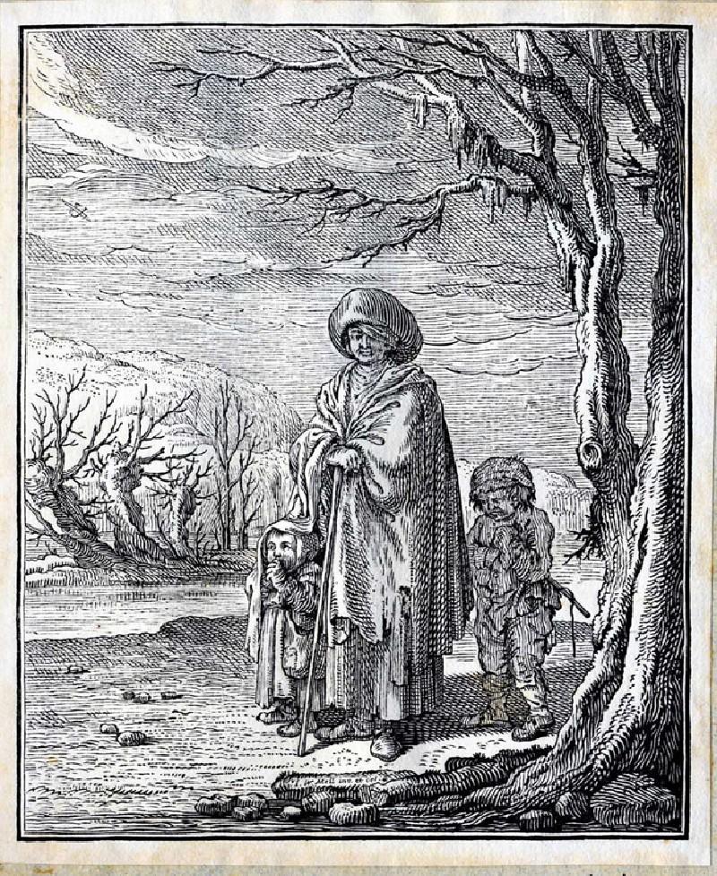 Wood-gatherers (WA2003.Douce.3685, record shot)