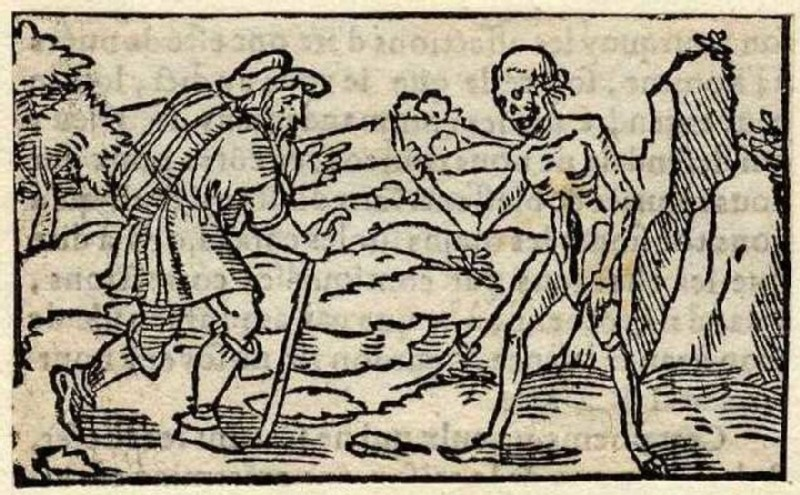 Death and the peddler