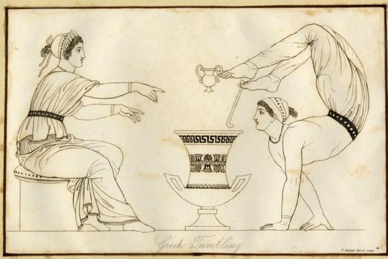 Greek Tumbling (WA2003.Douce.599, record shot)