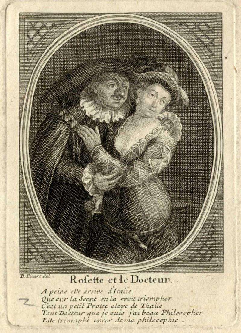 Rosette et le Docteur (WA2003.Douce.687, record shot)