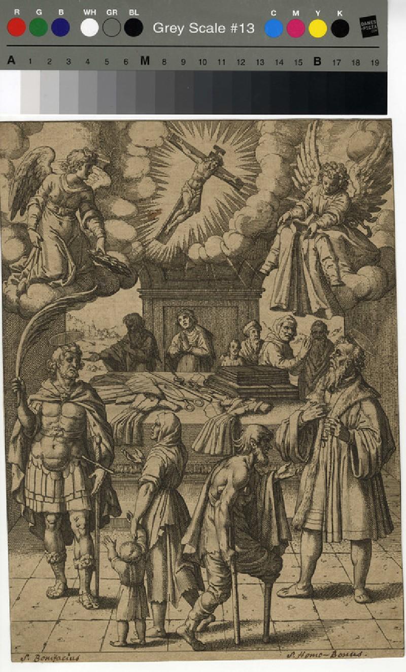 Scene from the life of Saint Boniface