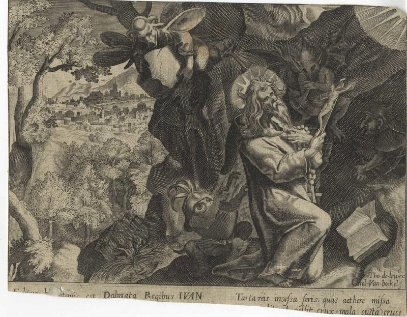 Temptation of Saint Anthony (WA2003.Douce.1878, record shot)
