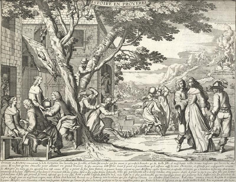 Histoire en proverbes (WA2003.Douce.2907, record shot)