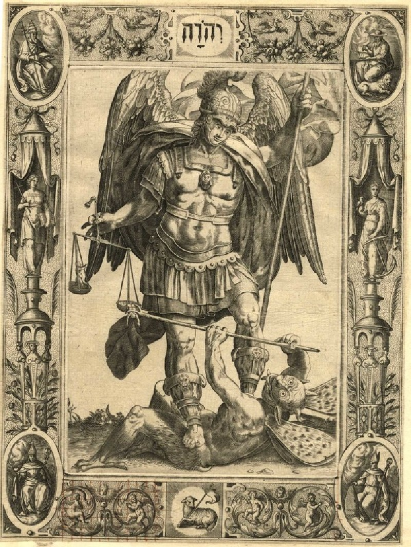 Archangel Michael with a Demon and Scales