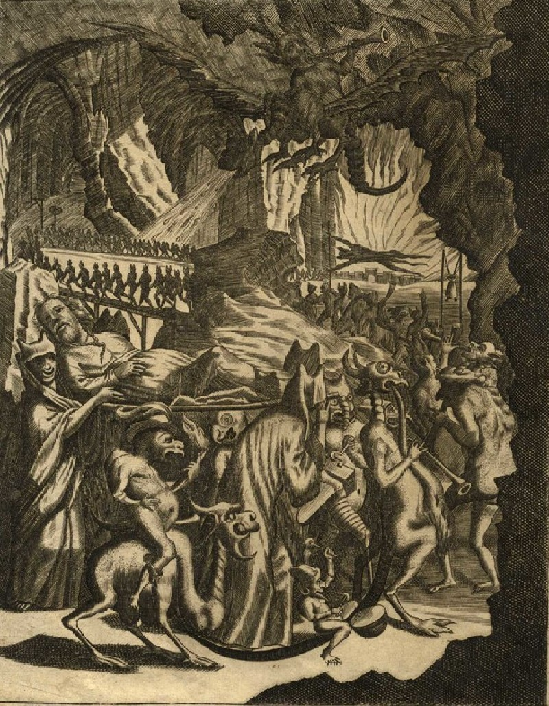 The Procession of Judas Through Hell